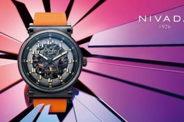 尼维达NIVADA绚翼系列,镂空简约品鉴机械之美