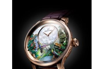 腕间的微缩世界 雅克德罗以自动玩偶腕表致敬生命与自然