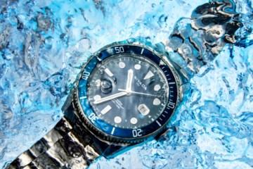 时尚新品亮相,尼维达NIVADA自动机械机芯潜水腕表_