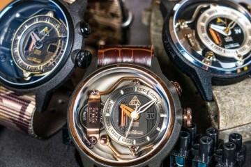 ELZ 瑞士小众腕表带来非凡电力