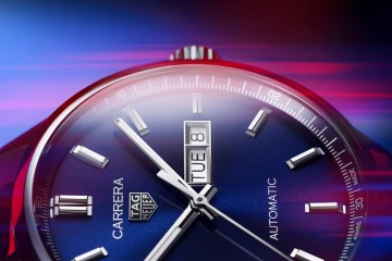 新一代TAG HEUER泰格豪雅 卡莱拉系列(CARRERA)三针腕表